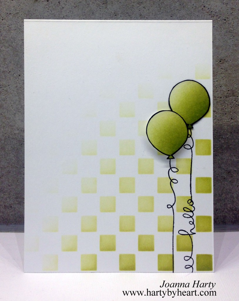 Happy Birthday card by Joanna Harty, lawn fawn and simon says stamp.. More information over at www.hartybyheart.com