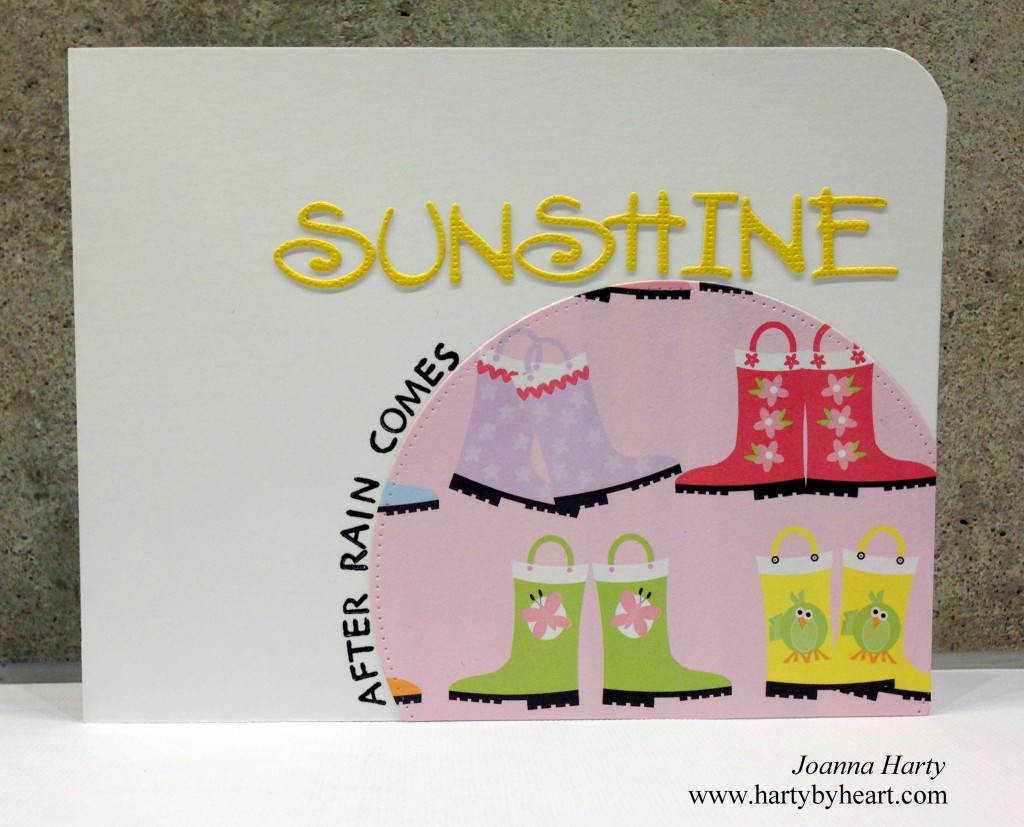 Card by Joanna Harty using Stampen Dous and Die-versions