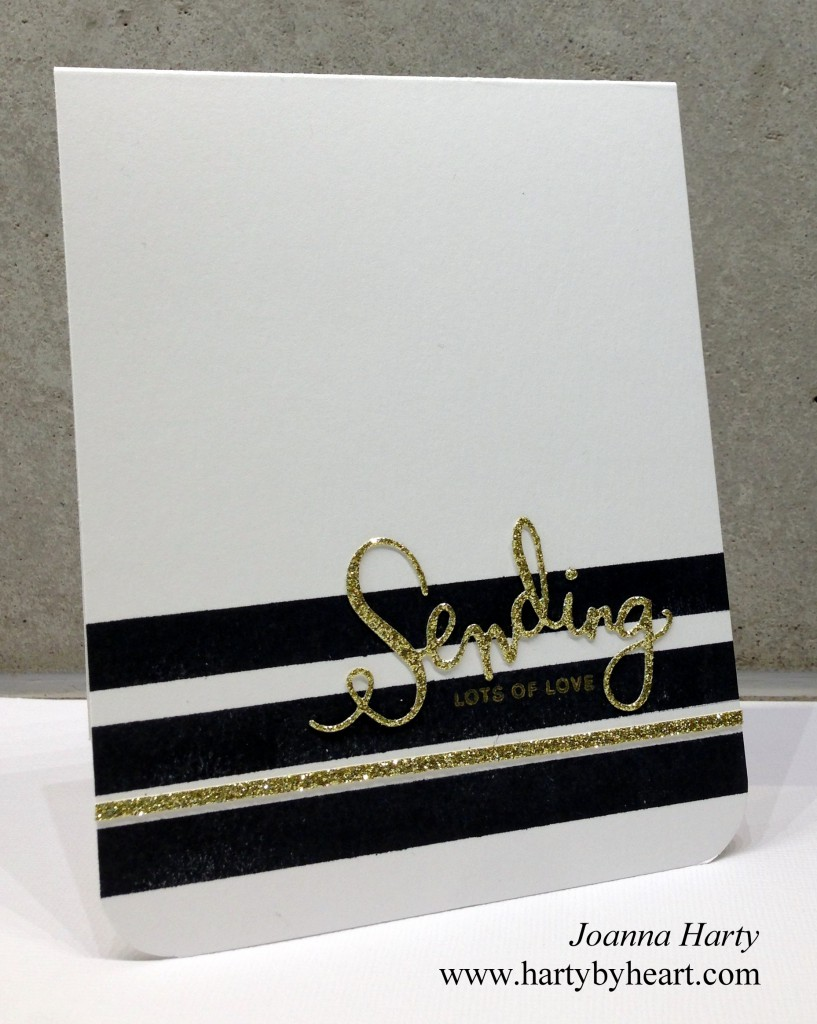 Sending lots of Love, card created by Joanna Harty using SSS and clearly besotted