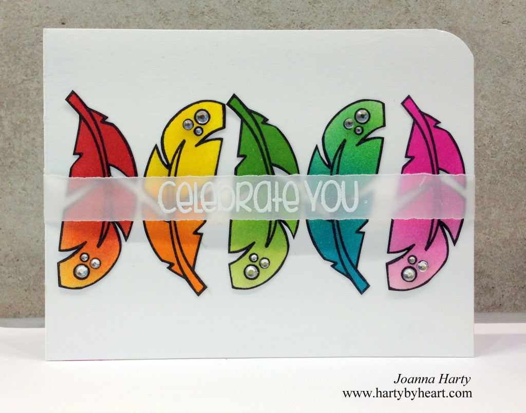 Card created by Joanna Harty using The Alley Way Stamps
