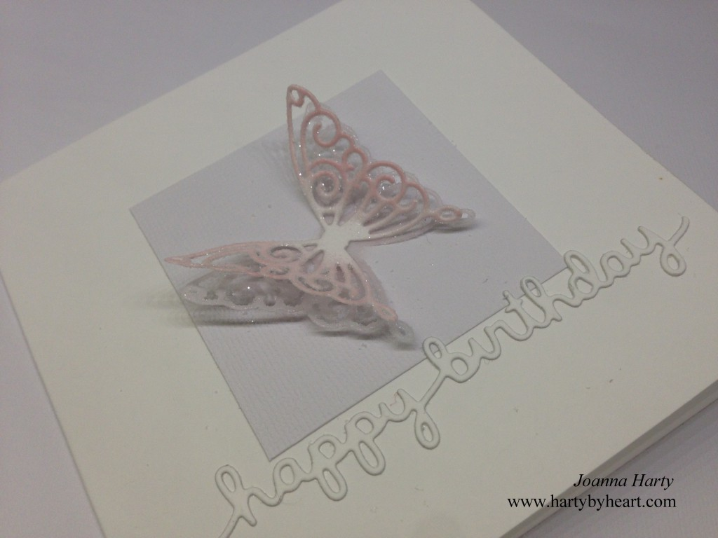 Card created by Joanna Harty using SSS and Lawn fawn dies