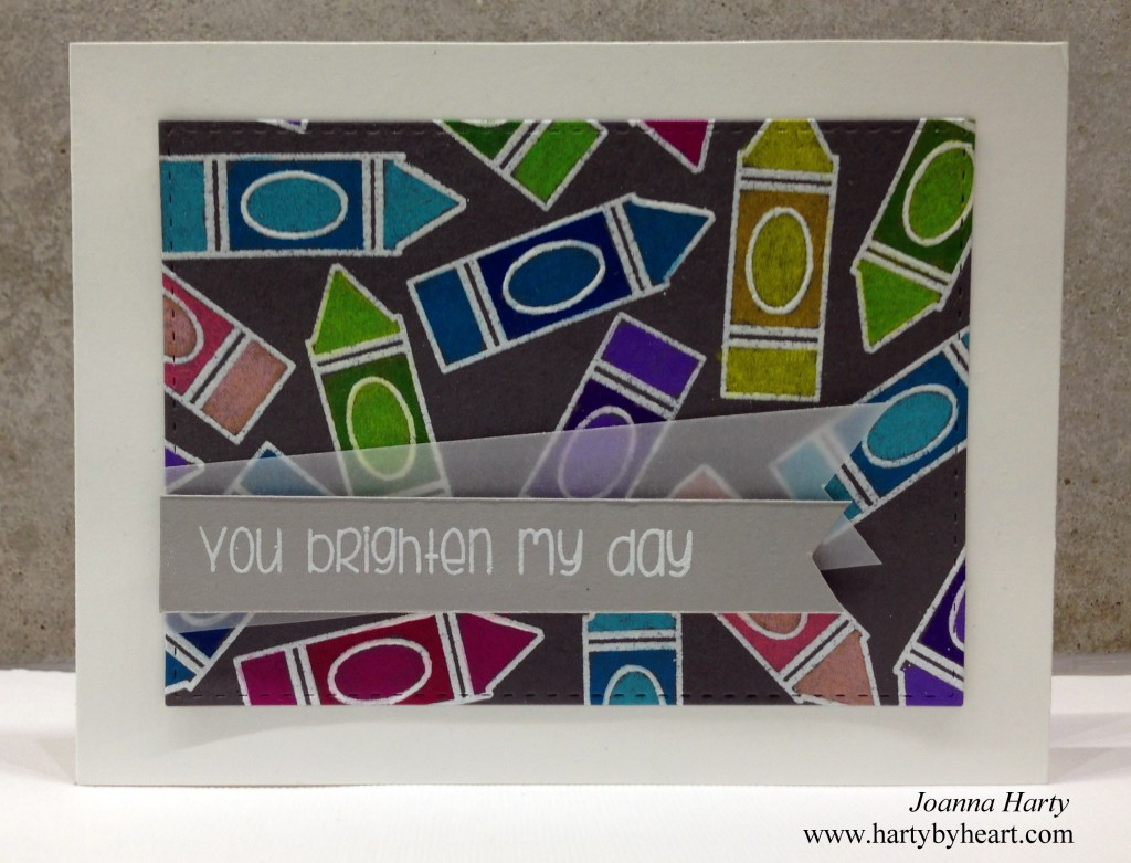 Card created by Joanna Harty using TAWS