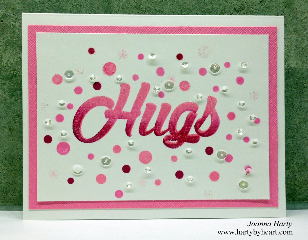 Card created by Joanna Harty using Big Time from The Alley Way Stamps