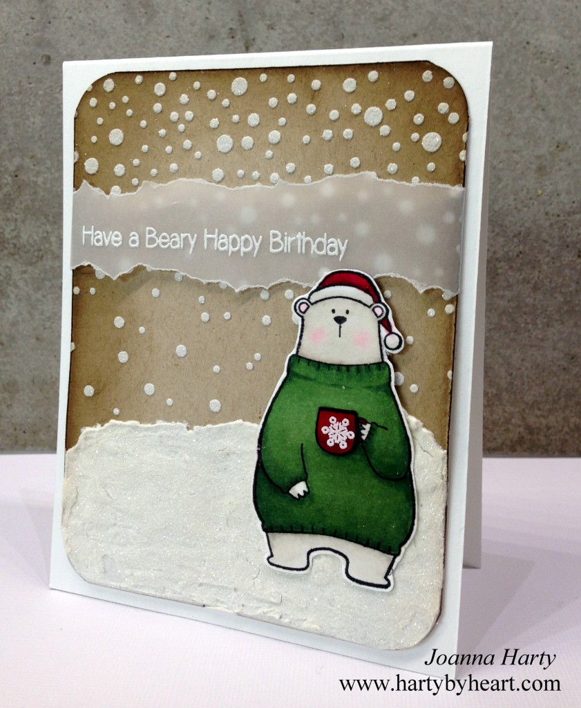 Happy Birthday card created by Joanna Harty using MFT Cool Day