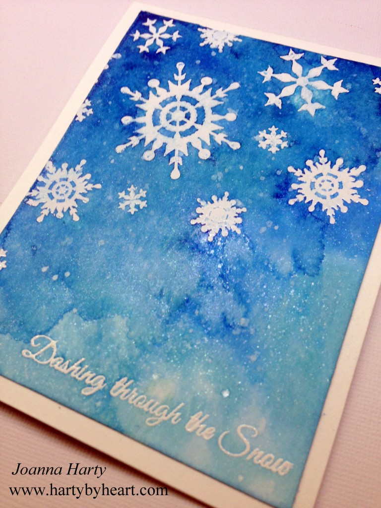 Christmas card created by Joanna Harty