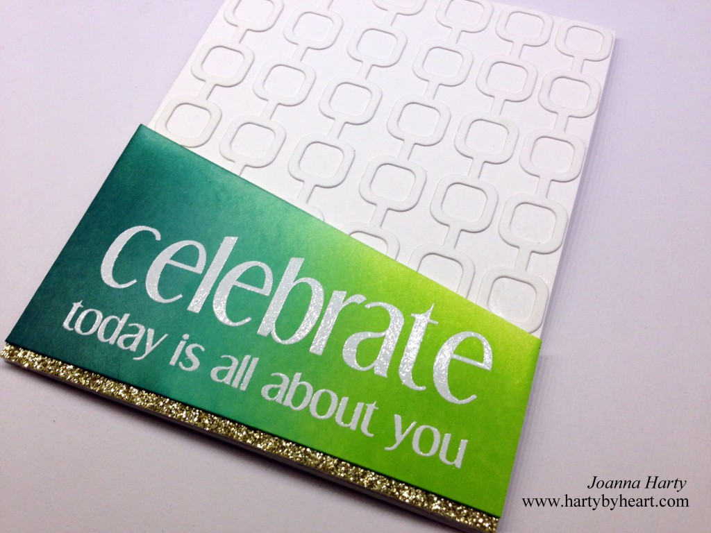 Happy Birthday card created by Joanna Harty using CAS-ual Fridays Stamps