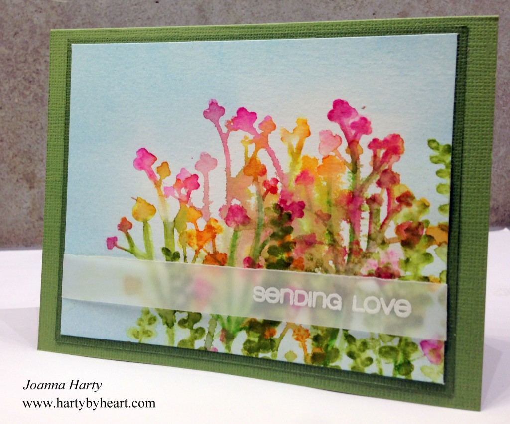 card created by Joanna Harty using CAS-ual Friday Stamps