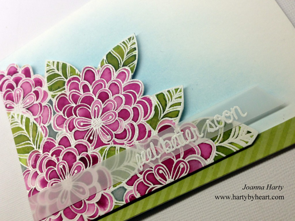 Card created by Joanna Harty using CAS-ual Fridays Stamps